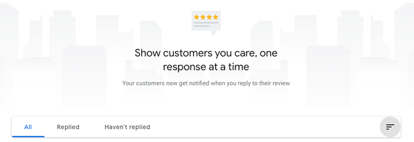Google My Business Respond to Reviews