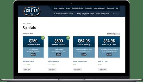 RocketLevel_E-Commerce Product Page