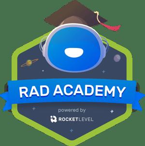 RAD Academy powered by RocketLevel
